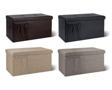 Sohl Furniture Rectangular Storage Ottoman Aldi Usa