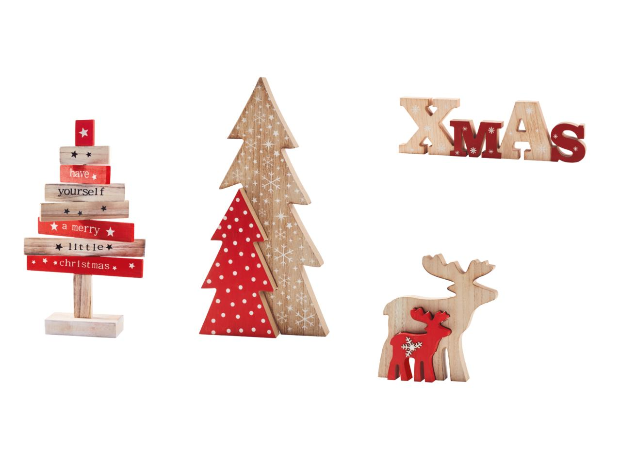 MELINERA Wooden Christmas Decorations - Lidl — Ireland - Specials ...