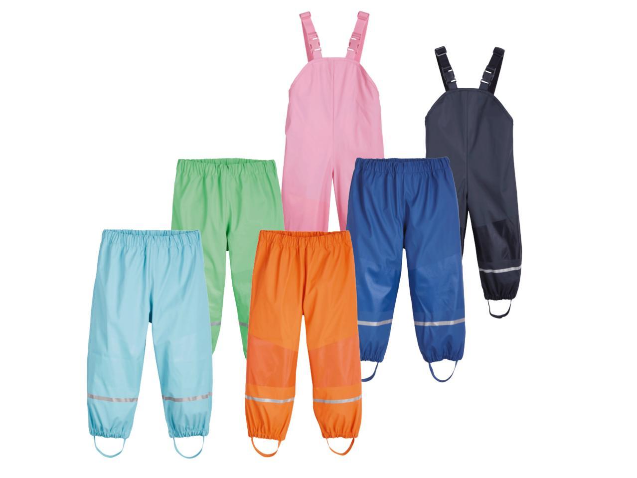 86e877377 LUPILU Kids  Waterproof Trousers - Lidl — Northern Ireland ...