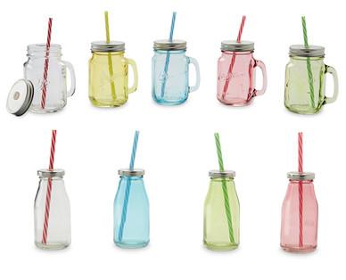 Glass drinking jars aldi great britain specials archive for Glas handtuchhalter aldi