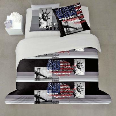 parure de lit usa aldi france archive des offres promotionnelles. Black Bedroom Furniture Sets. Home Design Ideas