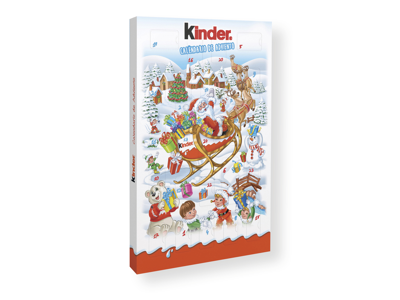 Calendario Adviento Lidl.Kinder R Calendario De Adviento Lidl Espana Specials Archive