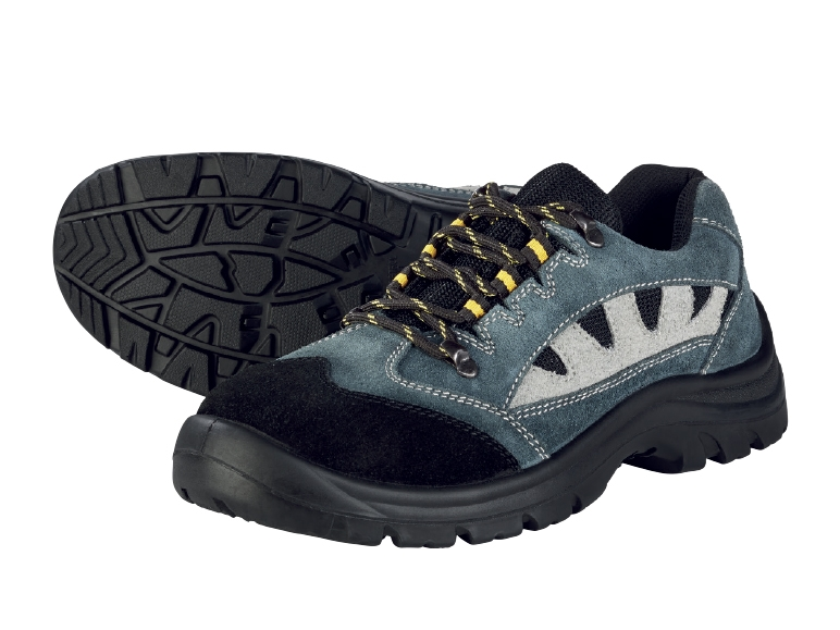 Powerfix Men S Leather Safety Boots Or Shoes Lidl
