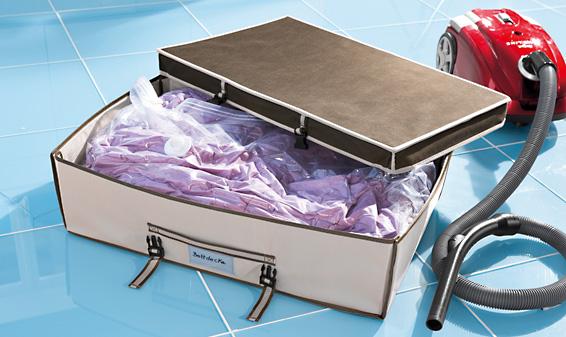 mallette de rangement dessous de lit lidl france archive des offres promotionnelles. Black Bedroom Furniture Sets. Home Design Ideas