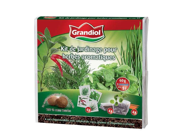 kit de jardinage pour fleurs herbes aromatiques ou l gumes lidl france archive des offres. Black Bedroom Furniture Sets. Home Design Ideas