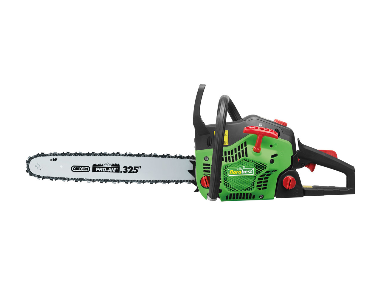 florabest petrol chainsaw1 - lidl — great britain - specials archive
