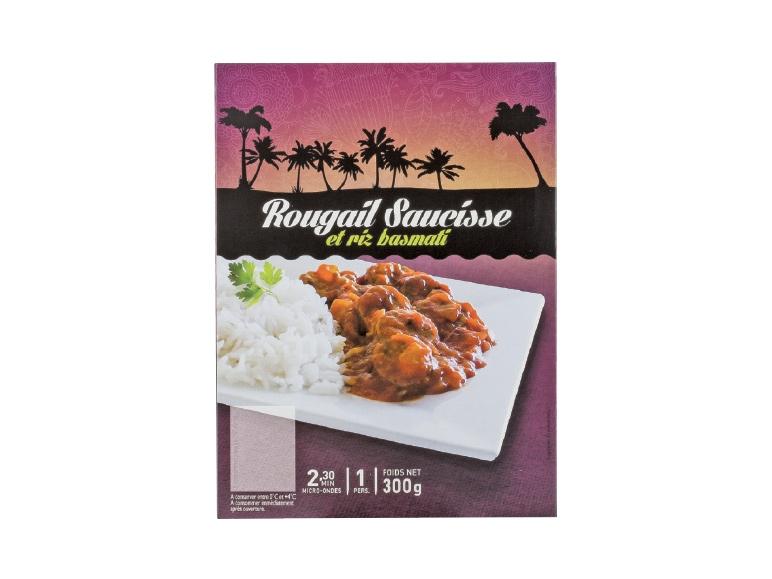 rougail saucisse ou poulet curry coco et riz basmati lidl france archive des offres. Black Bedroom Furniture Sets. Home Design Ideas