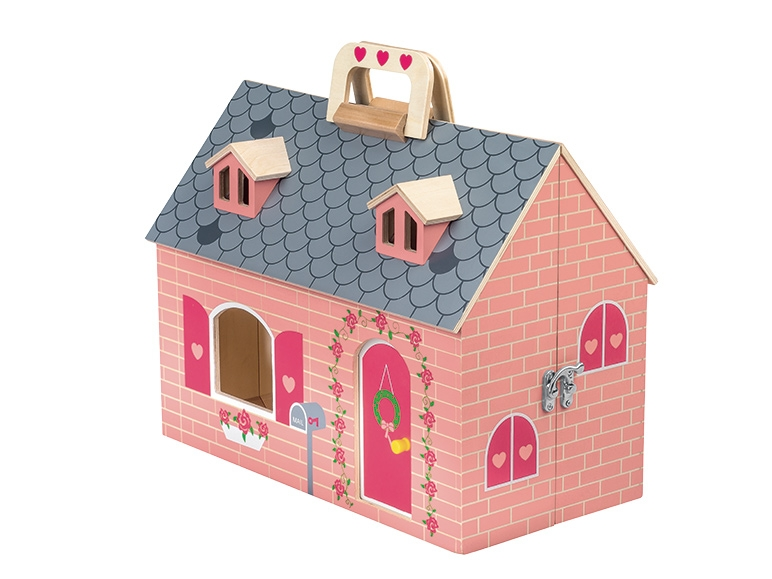 maisonnette avec meubles et poup es lidl france archive des offres promotionnelles. Black Bedroom Furniture Sets. Home Design Ideas