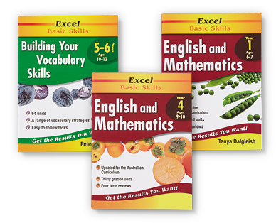 excel basic skills books aldi australia specials archive