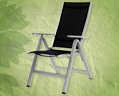 chaise pliante en aluminium gardenline r aldi suisse archive des offres promotionnelles. Black Bedroom Furniture Sets. Home Design Ideas