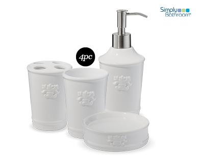 Bathroom Accessories Set 4pc Aldi Australia Specials