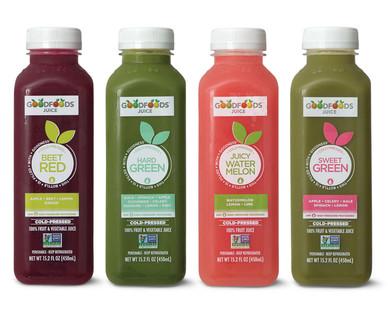 Good Foods Cold Pressed Juice Aldi