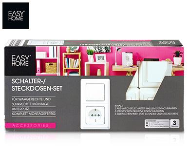 easy home r schalter steckdosen sortiment aldi s d deutschland archiv werbeangebote. Black Bedroom Furniture Sets. Home Design Ideas