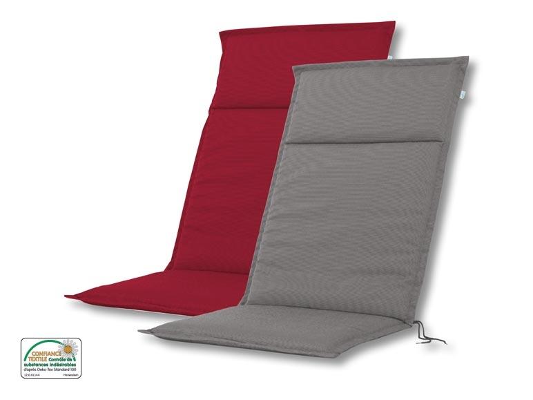 Coussin pour fauteuil de jardin lidl suisse archive for Coussin de fauteuil de jardin