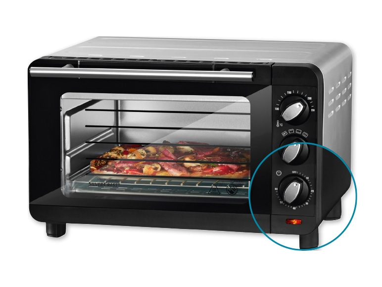 Electric Oven And Grill Part - 21: Silvercrest Kitchen Tools(R) 1,200W Electric Oven And Grill