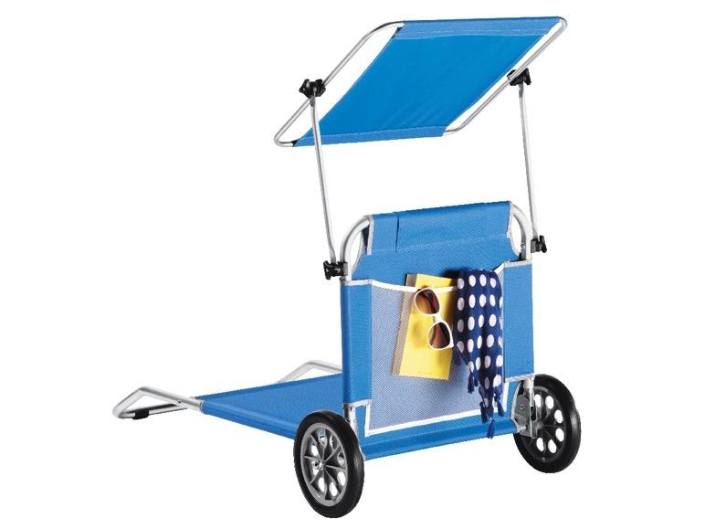 Sdraio Trolley Da Spiaggia Lidl.Sdraio Trolley Da Spiaggia Blu O A Righe Lidl Italia