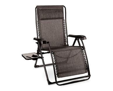 Enjoyable Gardenline Big Tall Folding Recliner Aldi Usa Dailytribune Chair Design For Home Dailytribuneorg