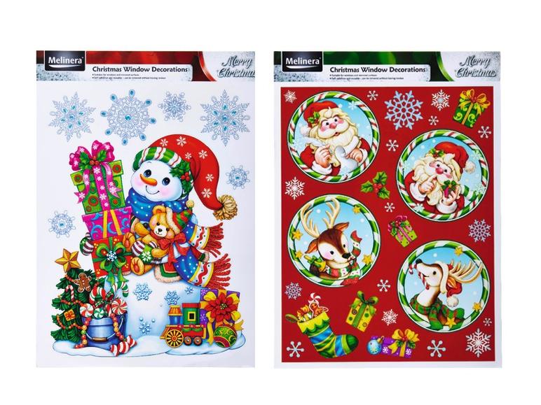 Adesivi natalizi per finestre lidl italia archivio offerte promozionali - Adesivi natalizi per finestre ...