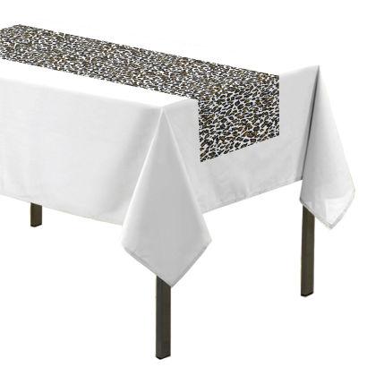 chemin de table ou petite nappe safari aldi france archive des offres promotionnelles. Black Bedroom Furniture Sets. Home Design Ideas