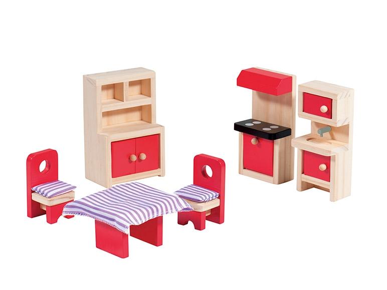 PLAYTIVE JUNIOR Wooden Dollu0027s House Furniture ...