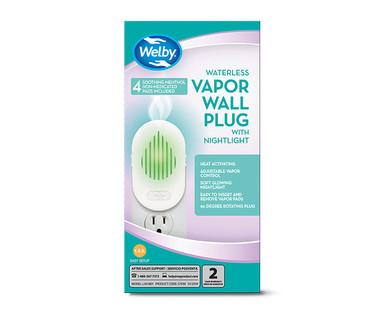 Welby Waterless Vapor Wall Plug And Nightlight Or Refills
