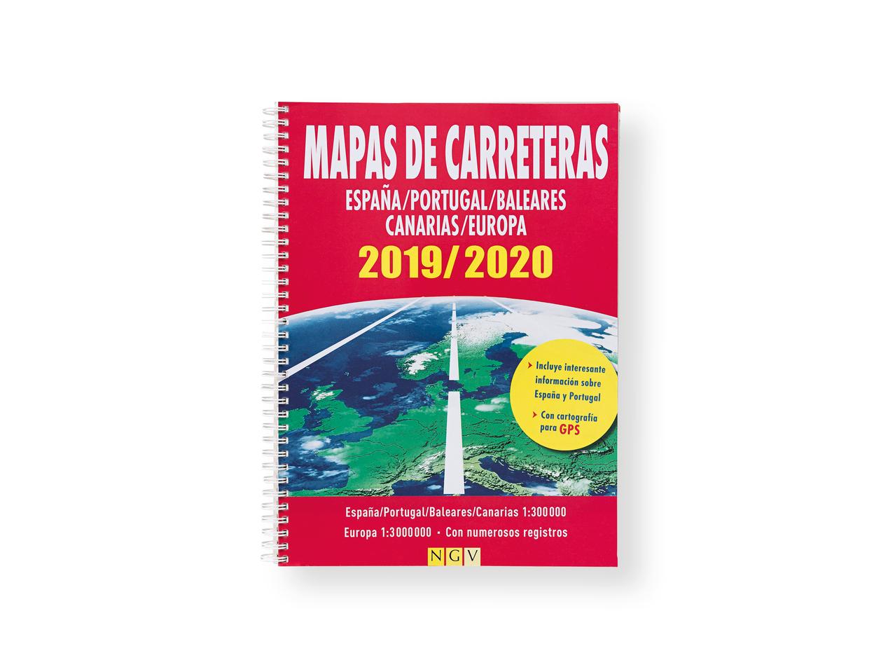 Mapas De Carreteras 2019 2020 Lidl Espana Specials Archive