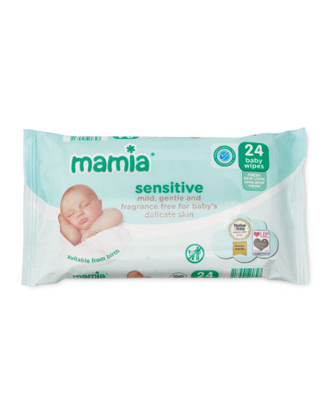 Baby Wipes Sensitive 4 Pack