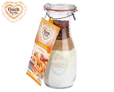 Back family backmischung im glas aldi s d deutschland for Glas handtuchhalter aldi