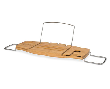 Easy Home Bamboo Bath Caddy - Aldi — USA - Specials archive
