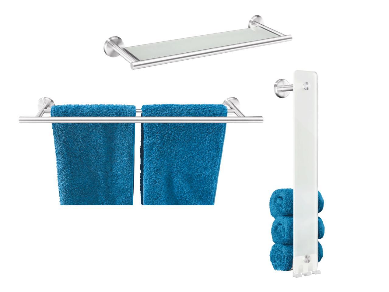 MIOMARE Towel Rail/Towel Holder/Glass Shelf - Lidl — Ireland ...