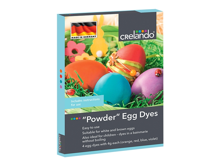 Crelando Easter Egg Dyes Lidl Great Britain Specials Archive