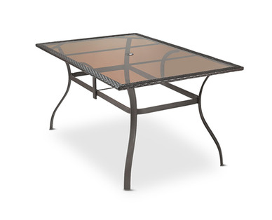Gardenline Patio Dining Table Aldi Usa Specials Archive