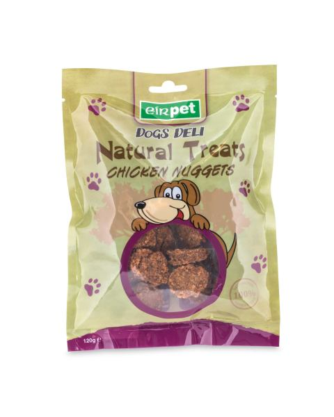 Chicken Nugget Shaped Dog Treats