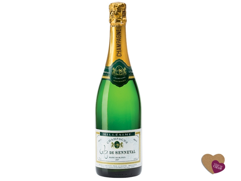 Champagne de senneval millesime