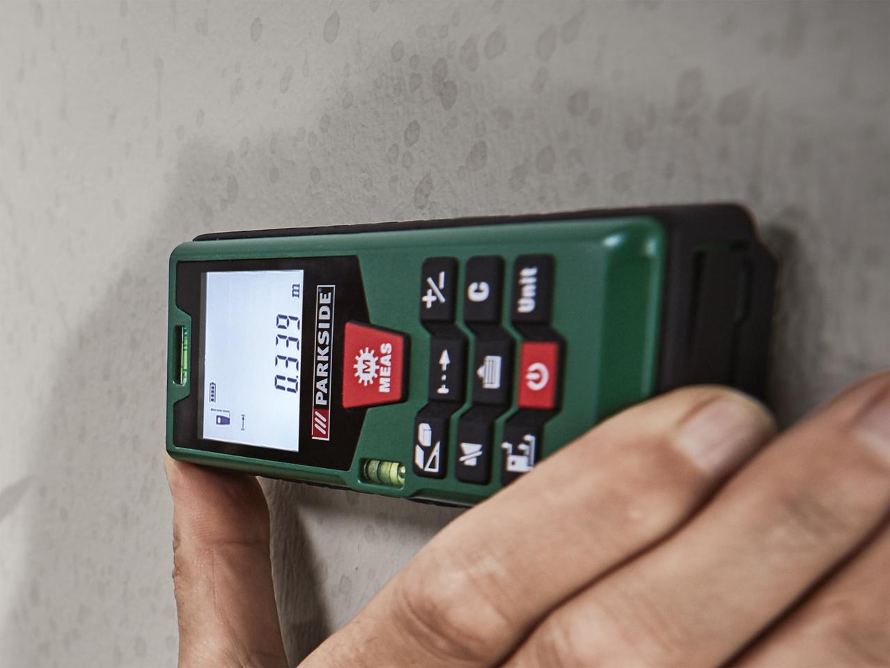 Laser Entfernungsmesser Parkside : Laser entfernungsmesser lidl bosch plr digitaler