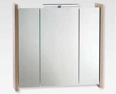 LIVING STYLE Badezimmer-Spiegelschrank \