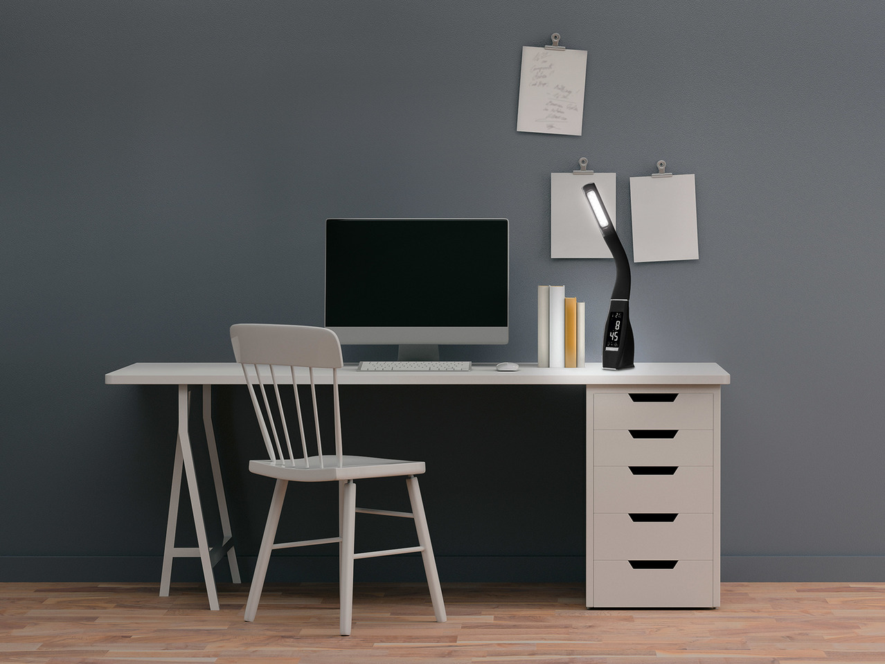 Livarno Lux Led Desk Lamp1 Lidl Great Britain