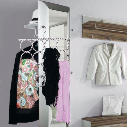 syst me de rangement pour charpes ou sacs aldi. Black Bedroom Furniture Sets. Home Design Ideas