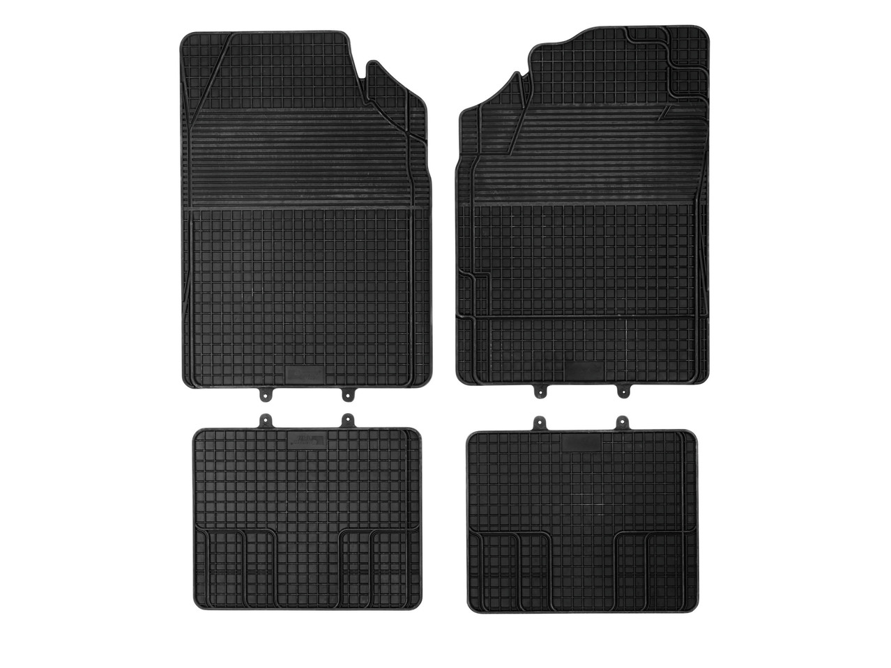 All-Weather Car Mat Set, 4 piece set