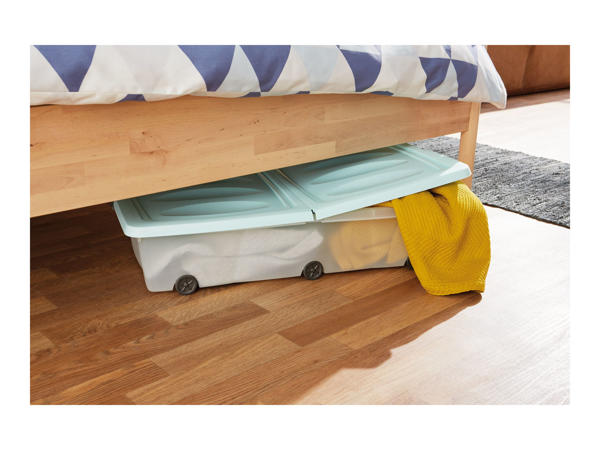 Cassetti Underbed Storage Box With Wheels1