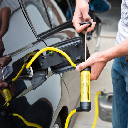 Benzine overhevelpomp