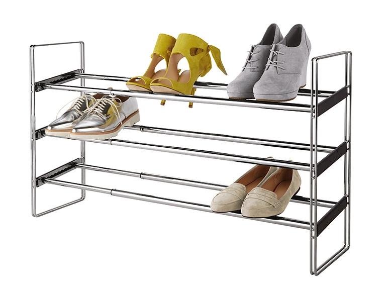 LIVARNO LIVING Extendable Shoe Rack