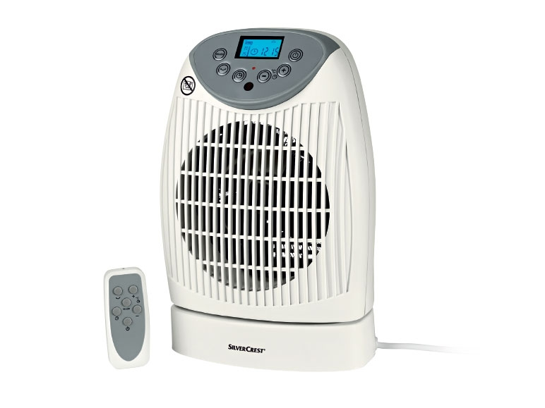 Silvercrest Fan Heater With Remote Control Lidl Great