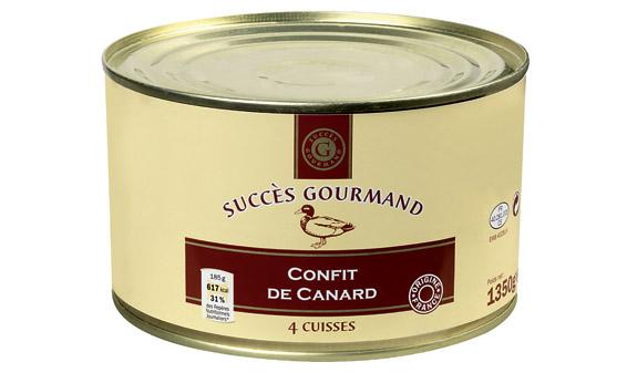 Prix confit de canard lidl