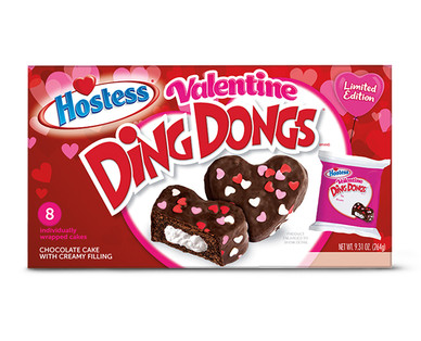 Hostess Valentine Ding Dongs - Aldi — USA - Specials archive