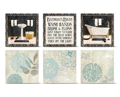 Huntington Home Bathroom Canvas Wall Art Huntington Home Bathroom Canvas  Wall Art