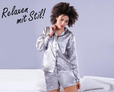 new concept fd80e ebb76 DISSIMIO Damen-Satin-Pyjama - Aldi — Schweiz - Archiv ...