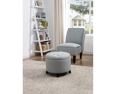 Sohl Furniture Exclusive Collection Tufted Slipper Chair