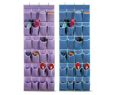 ... Easy Home Kidsu0027 Hanging Closet Organizers ...