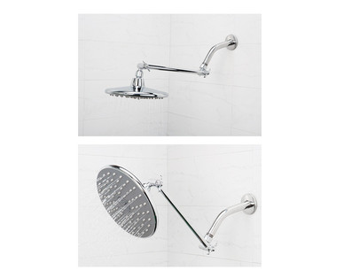 Easy Home 3-Function Monsoon Shower Head With Adjustable Arm - Aldi ...